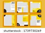 set of sale banner template...   Shutterstock .eps vector #1739730269