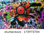 Постер, плакат: John Lennon wall on