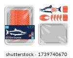 vector alaskan sockeye salmon...   Shutterstock .eps vector #1739740670