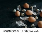 Brown Chicken Eggs  Quail Eggs...