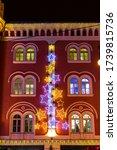 Christmas Decoration In Prague...