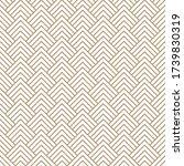 seamless simple gold geometric... | Shutterstock .eps vector #1739830319