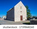 The 13th century Church of St. Ambrose in Nin, Croatia