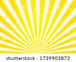 a fancy yellow radiant frame   Shutterstock .eps vector #1739903873