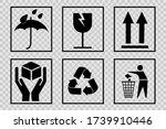 fragile or package label... | Shutterstock .eps vector #1739910446