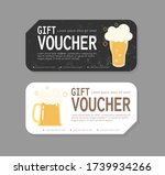 gift voucher template design... | Shutterstock .eps vector #1739934266