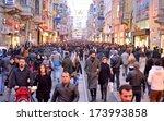 istanbul  turkey   january 12 ...   Shutterstock . vector #173993858