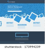 vector  website. abstract blue...