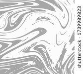 gray marble texture vector... | Shutterstock .eps vector #1739989823