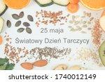"""polish inscription  """"25 may...   Shutterstock . vector #1740012149"""