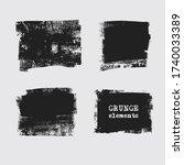 abstract grunge stamp element... | Shutterstock .eps vector #1740033389