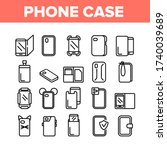 phone case accessory collection ... | Shutterstock .eps vector #1740039689