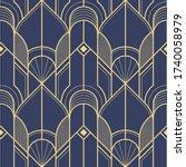 vector modern geometric tiles...   Shutterstock .eps vector #1740058979