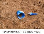 Blue Plastic Children\'s Bucket...