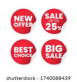 set of high quality realistic... | Shutterstock .eps vector #1740088439