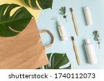 natural eco cosmetics  morning... | Shutterstock . vector #1740112073