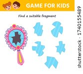 game for kids. educational page ... | Shutterstock .eps vector #1740155489