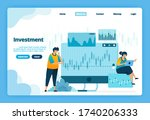landing page of investment....