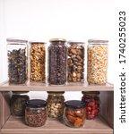 Bulk Foods Storage In Glass...