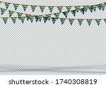 bunting hanging banner south...   Shutterstock .eps vector #1740308819