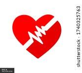 heart icons. heart illustration ...   Shutterstock .eps vector #1740325763