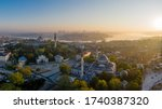 An Aerial View Of Istanbul Wit...