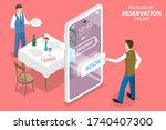 3d isometric flat vector... | Shutterstock .eps vector #1740407300