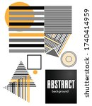 covers templates set with... | Shutterstock .eps vector #1740414959