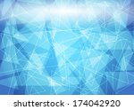 blue abstract background | Shutterstock . vector #174042920