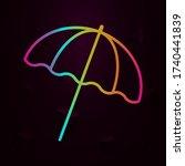 umbrella nolan icon simple thin ...