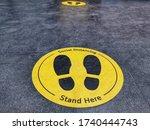 Standing Marker For Social...