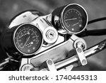 Motorcycle Close Up. Beautiful...