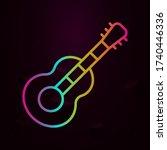 guitar nolan icon simple thin...