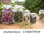 Dried Herbs  Mint Leaves And...