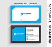 v letter logo minimal corporate ...   Shutterstock .eps vector #1740499040