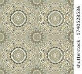 seamless background  eastern... | Shutterstock .eps vector #1740528536