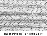 white brick wall backgrounds ... | Shutterstock . vector #1740551549