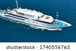 Aerial Drone Photo Of Yacht...