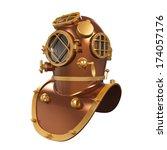 Old Diving Helmet