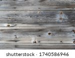 Horizontal Lined Wooden Panels. ...
