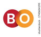Letter Bo Logo Vector Design...