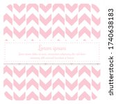 bright pastel seamless patterns.... | Shutterstock .eps vector #1740638183