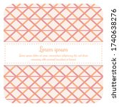 bright pastel seamless patterns.... | Shutterstock .eps vector #1740638276