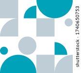 abstract pattern  shape ... | Shutterstock .eps vector #1740650753