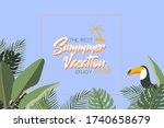 summer vacation  hand written...   Shutterstock .eps vector #1740658679