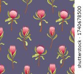 seamless vector pattern with...   Shutterstock .eps vector #1740678500