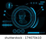 abstract,background,blue,circle,dashboard,design,digital,display,electronic,future,futuristic,game,hi-tech,hologram,hud