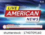 background screen saver on... | Shutterstock .eps vector #1740709160