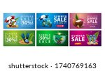 large collection of colorful... | Shutterstock .eps vector #1740769163