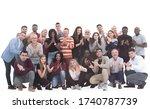 large international group of...   Shutterstock . vector #1740787739